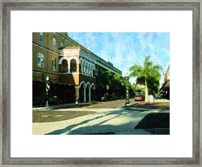 Holiday Ft. Myers Framed Print by Florene Welebny