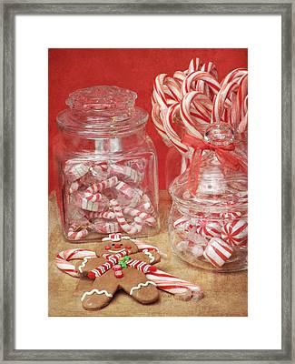Holiday Goodies Framed Print by Vicki McLead