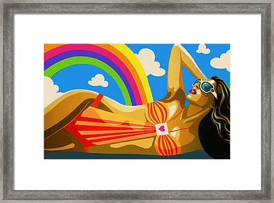 Holiday Framed Print by Heli Luukkanen