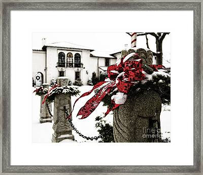 Holiday Home Framed Print