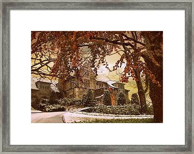 Holiday Home Framed Print by Jessica Jenney