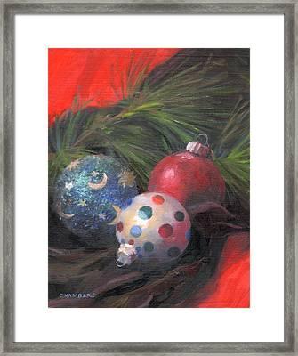 Holiday Jewels Framed Print