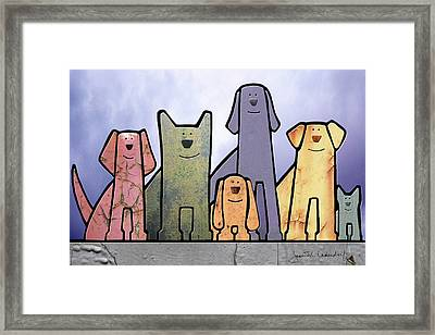 Holiday Framed Print by Joan Ladendorf