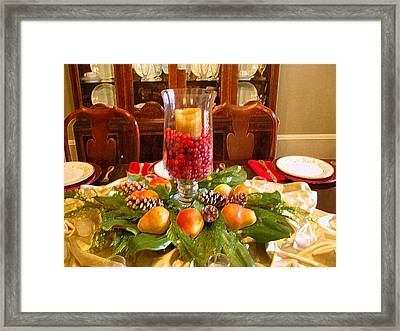 Holiday Framed Print by Michael Morrison