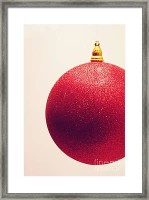 Framed Print featuring the photograph Holiday Sparkle by Cindy Garber Iverson