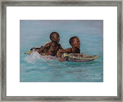 Holiday Splash Framed Print