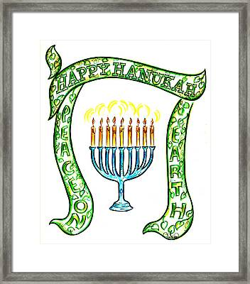 Holiday Time Framed Print by Judith Herbert