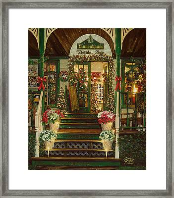Holiday Treasured Framed Print by Doug Kreuger