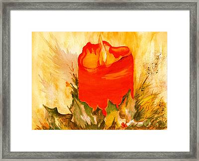 Holiday Warmth Framed Print