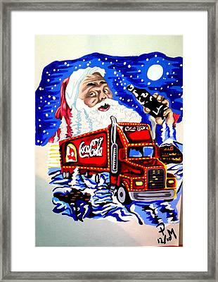 Holiday's Are Coming... Framed Print by Pauline Murphy