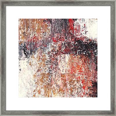 Holistic Spew Framed Print