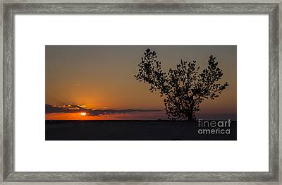Holland Beachfront Framed Print by Twenty Two North Photography