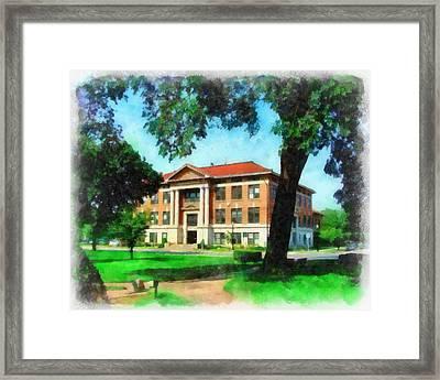 Holland City Hall Framed Print
