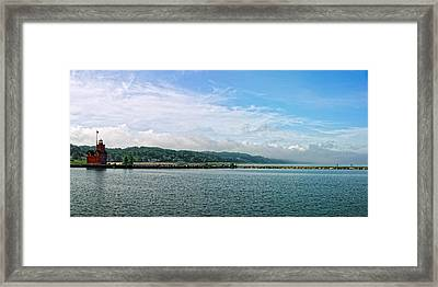 Framed Print featuring the photograph Holland Michigan by Lars Lentz