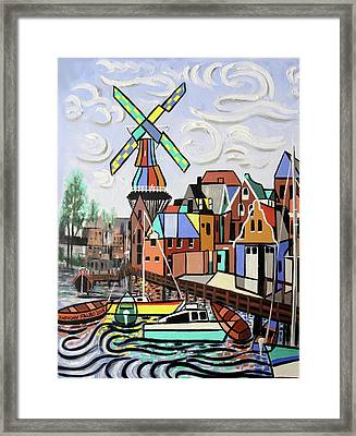 Holland Not Just Tulips And Windmills  Framed Print