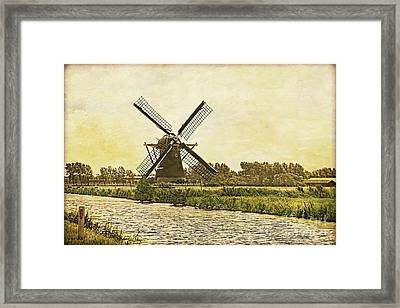 Holland - Windmill Framed Print