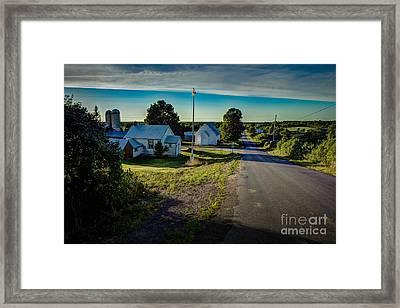 Holleford Rim Framed Print