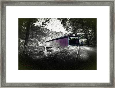 Hollingshead Bridge Framed Print