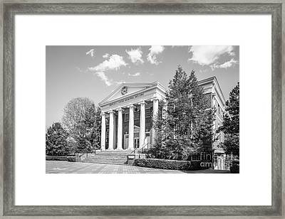 Hollins University Cocke Memorial Building Framed Print by University Icons