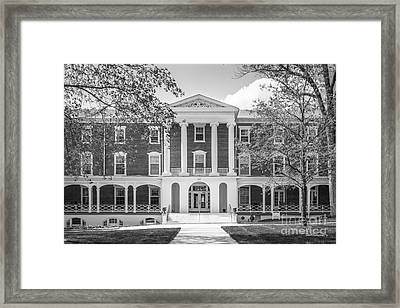 Hollins University Roanoke Framed Print by University Icons