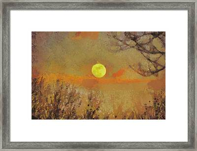 Hollow's Eve Framed Print by Trish Tritz