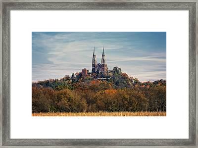 Holly Hill #2 - National Shrine Of Mary - Wisconsin Framed Print