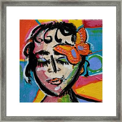 Holly - Vivid Vixen Framed Print