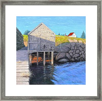 Holly Myrick's Fish House Framed Print