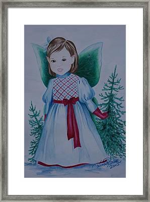 Holly Framed Print by Tiina Rauk