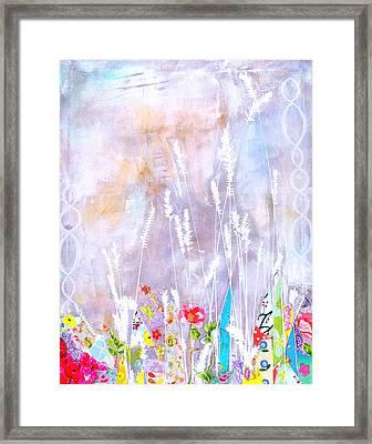 Holy Wheat II Framed Print by Gloria Von Sperling