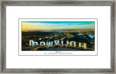 Hollywood Dreaming Poster Print Framed Print