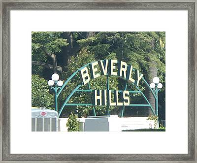 Hollywood  Framed Print by Sacred  Muse