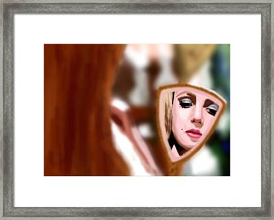 Hollywood Girl Framed Print by Vava Fuller-quinn