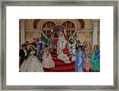 Hollywood Legends Framed Print by Jan Law