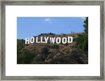 Hollywood Framed Print by Marna Edwards Flavell