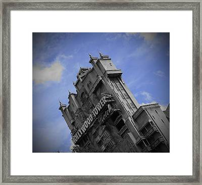 Hollywood Studio's Tower Of Terror Framed Print
