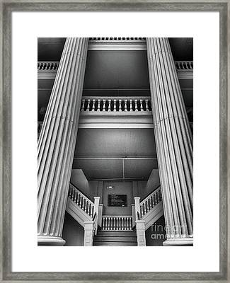 Holmes-hunter Building Framed Print by Tom Gari Gallery-Three-Photography