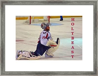 Holtbeast Framed Print