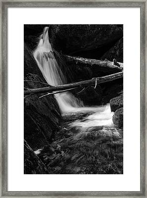Holtemme, Harz - Monochrome Version Framed Print by Andreas Levi