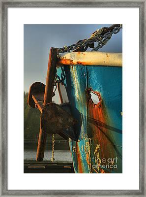 Holy Anchor Framed Print