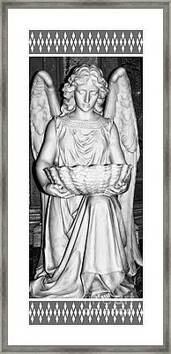 Holy Angel Framed Print by Kathleen Struckle