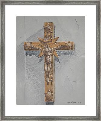 Holy Cross Framed Print