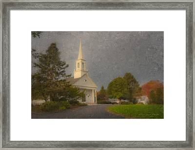 Holy Cross Parish Church Framed Print