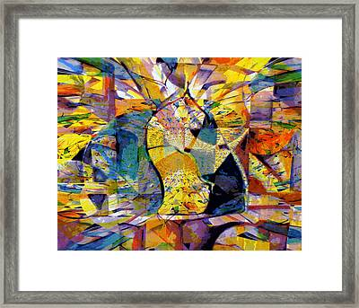 Holy Cup Framed Print
