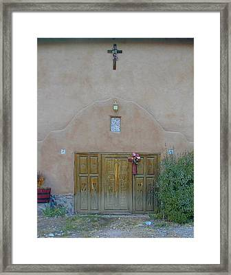 Holy Door Framed Print by Joseph R Luciano