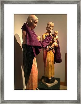 Holy Family - Lent Framed Print