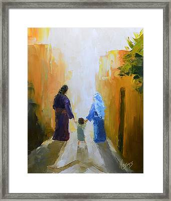 Holy Family Framed Print by Mike Moyers
