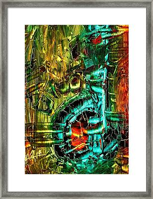 Holy Feeling Framed Print by Fareeha Khawaja
