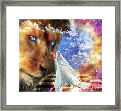 Divine Perspective Framed Print by Dolores Develde
