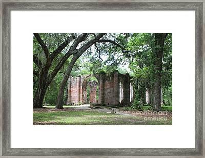 Holy Ground Framed Print by Carol Groenen